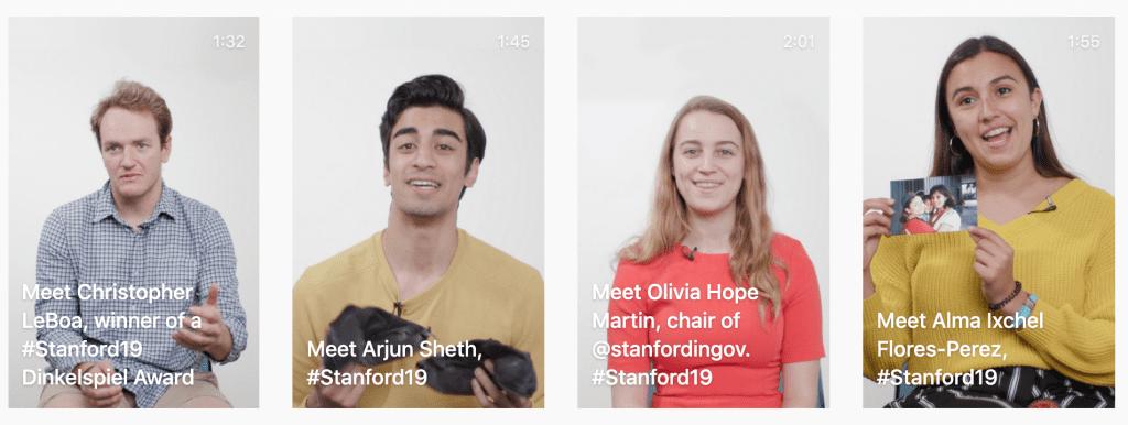Stanford University Social Media Campaign