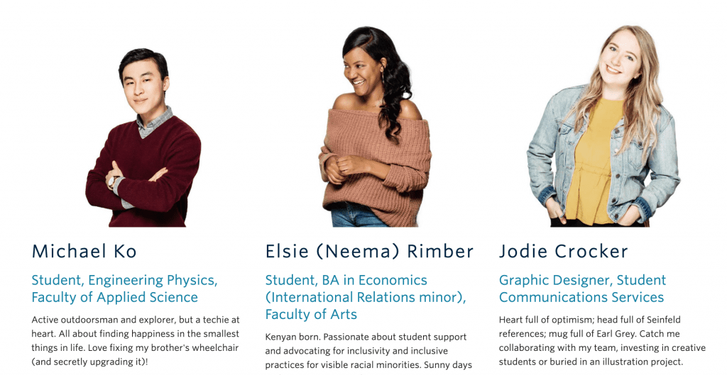 University of British Columbia UBC Content Marketing Campaign