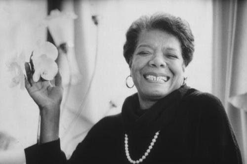 Maya Angelou Monochrome Photo on Brand Storytelling