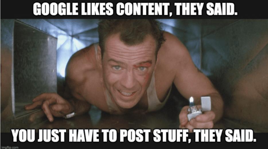 Set better goals for content marketing to avoid random publishing
